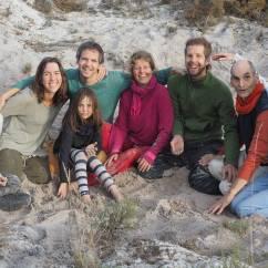 After the sandbox, Sini, Maria, Pina, André, Carola, Flurin, Rüdiger, Victoria